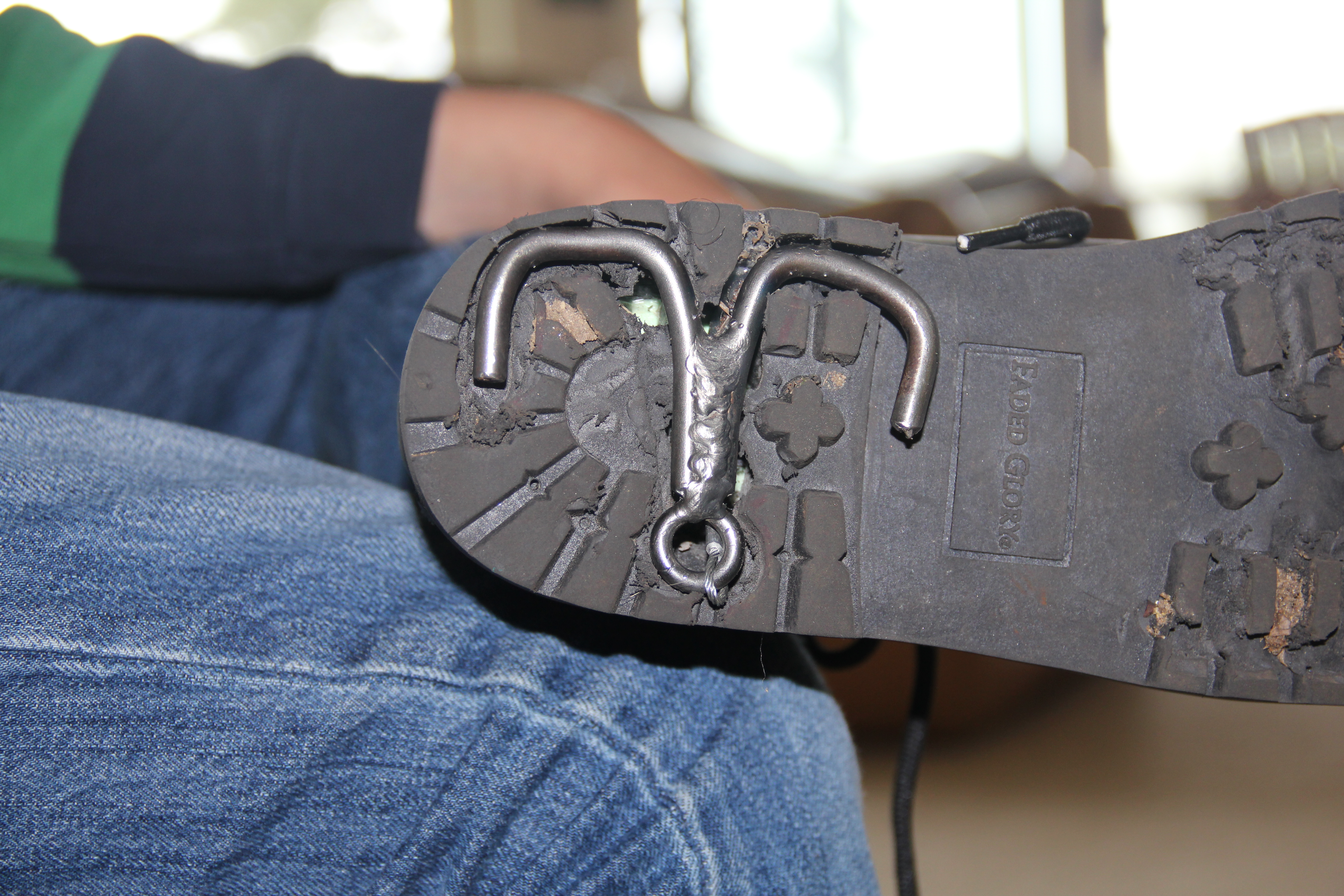 Secret Spy Shoe
