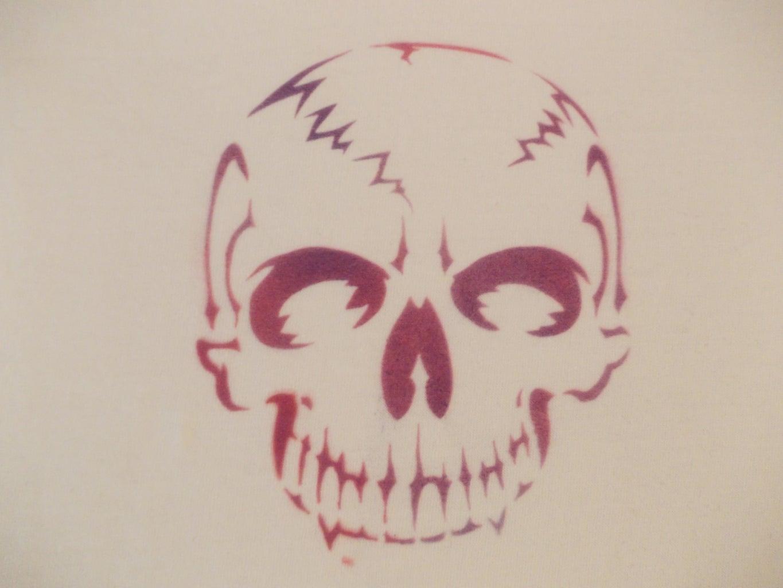Lumi Inkodye Airbrush Skull Shirt