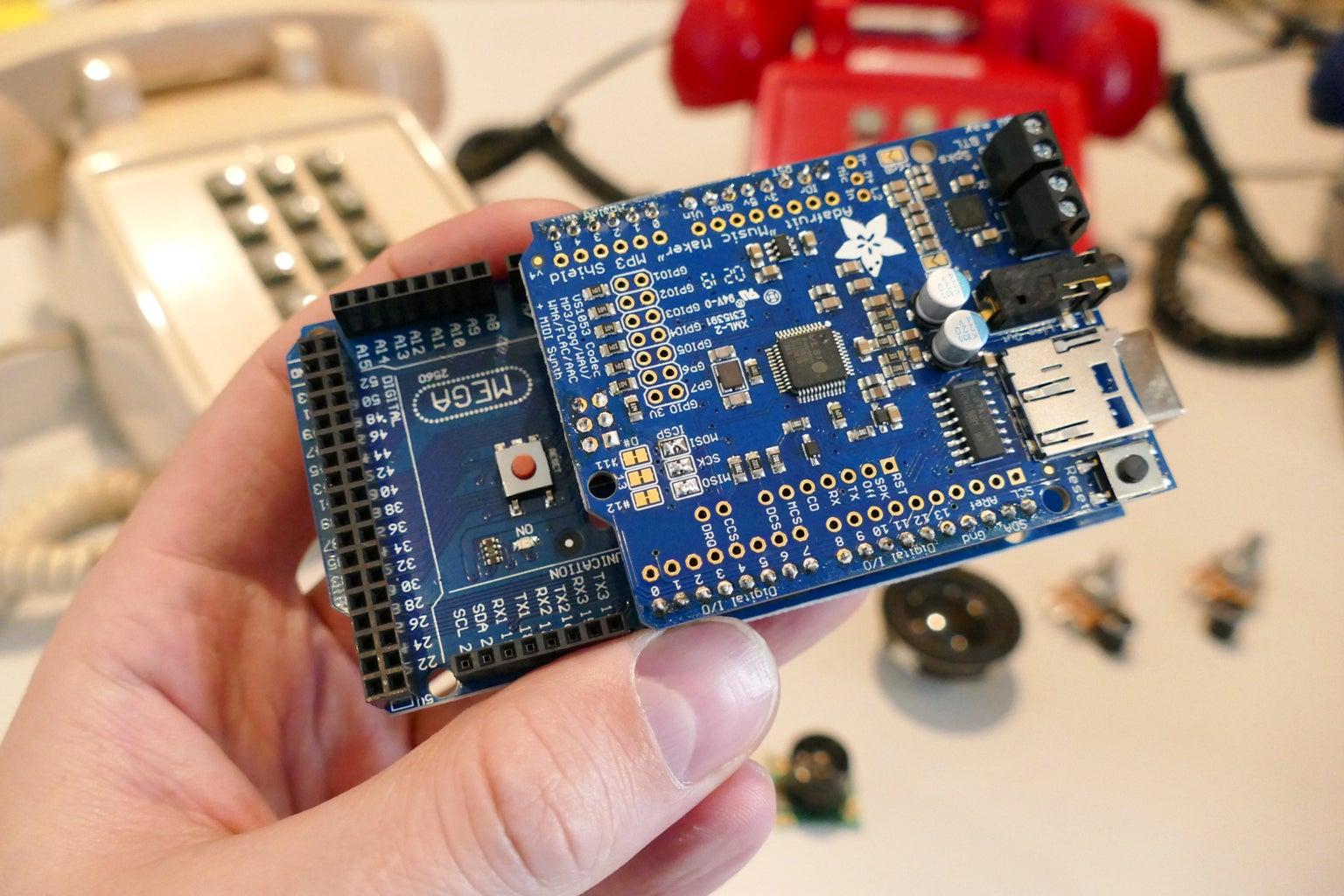 Build the MP3 Shield