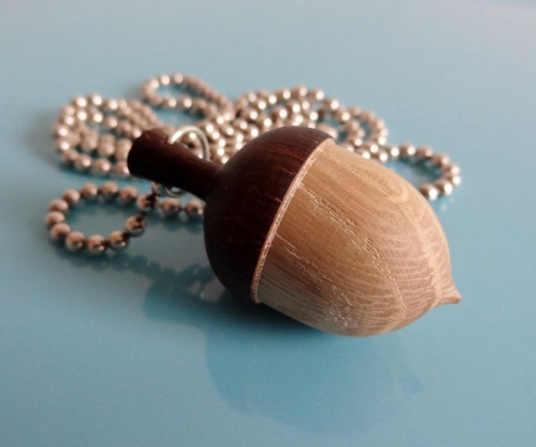 Create Your Own Acorn Necklace