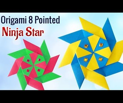 Projects for Kids: How to Make a DIY 8 Pointed Ninja Star
