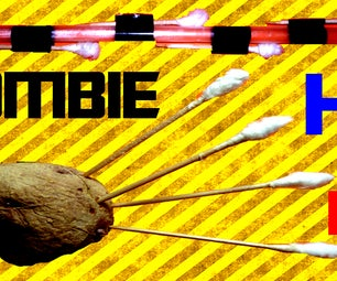 How to Make a Blowgun and Darts for Zombie Apocalypse!