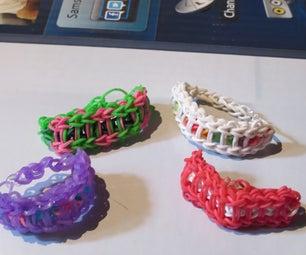Rainbow Loom Ladder Bracelet