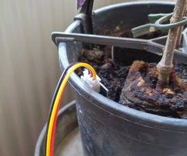 Soil Moisture Sensor With Watering Warning