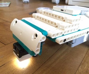 Lego Geared Down Car (coded) (Lego Mindstorms Robot Inventor 51515 Set)