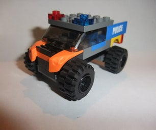 Here Is How to Make a Lego Police Truck