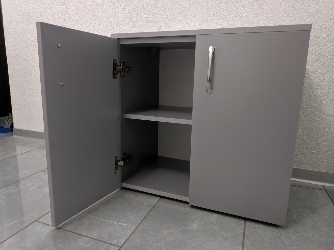 Install the Cabinets in Place and Enjoy