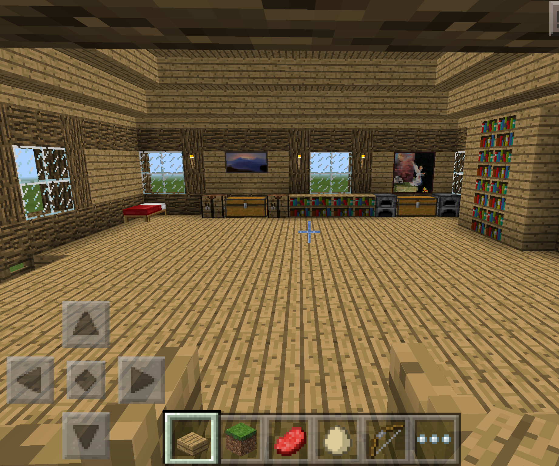 how to make a Minecraft house