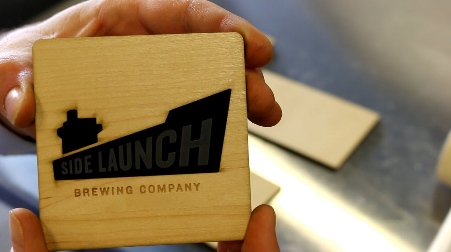 Coaster 9: Side Launch Brewing Company Inc.