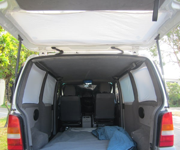 Velcro Curtains for Your Camper Van