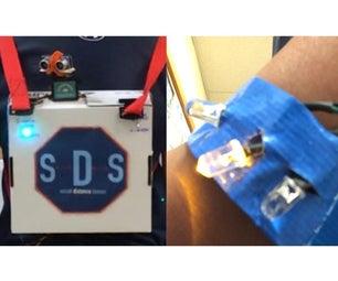 Social Distancing Sensor With Micro:Bit and Hummingbird Kit