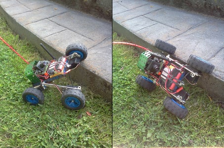 Little Mister Anywhere (The 4WD Unstoppable Bot)