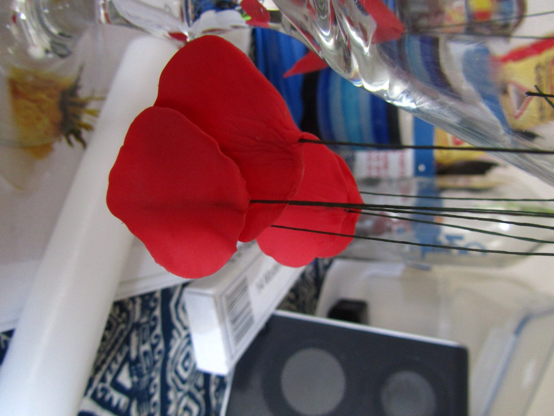 Making Poppies: Inner Petals
