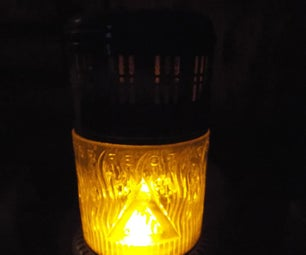 Kerosene to Electric Conversion: Perfection Firelight Night Light