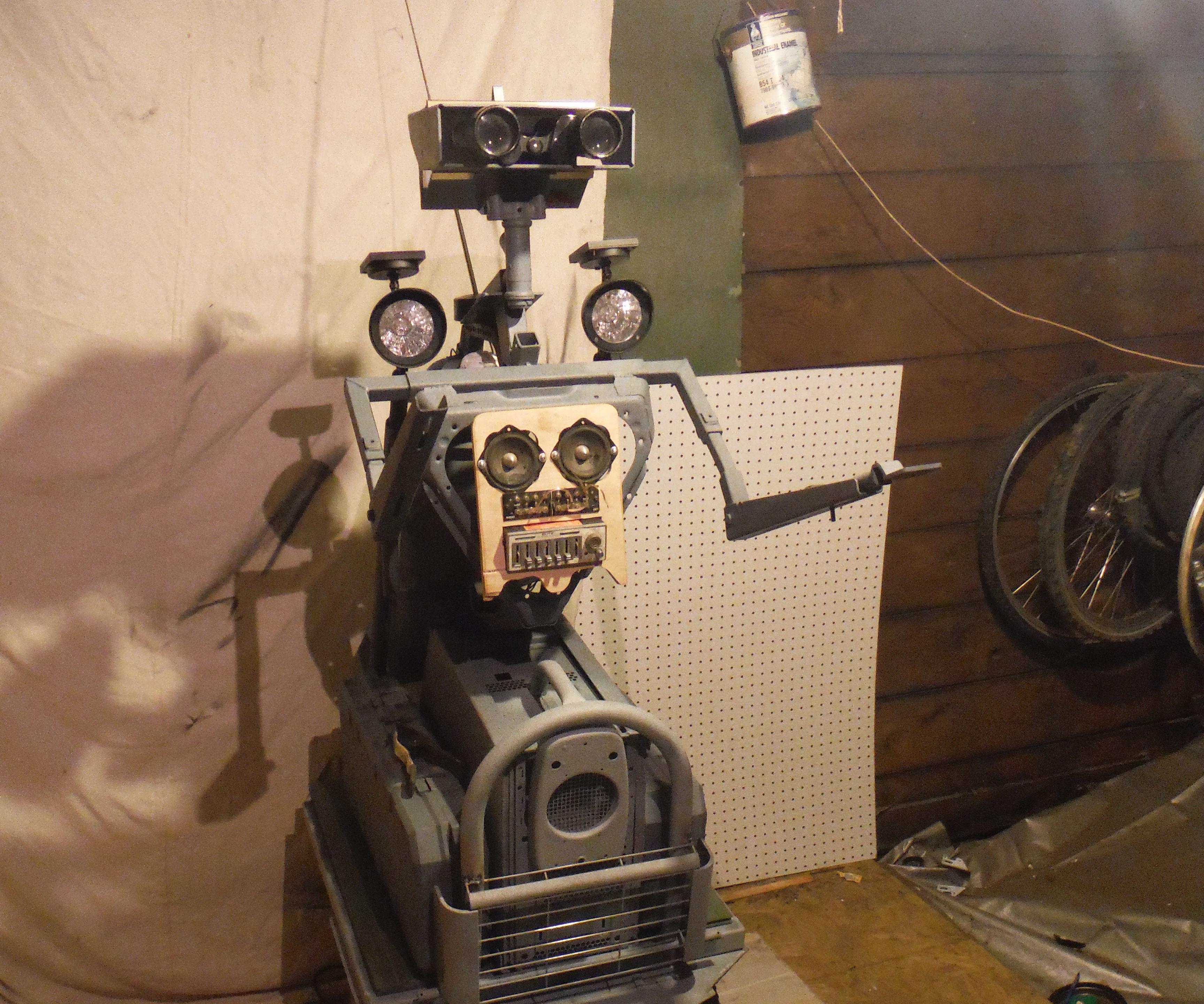 "Modular Robot Platform or ""Thrift Shop Johnny Five"""