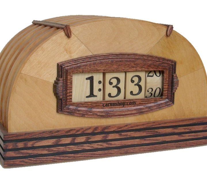 Numechron digital clock