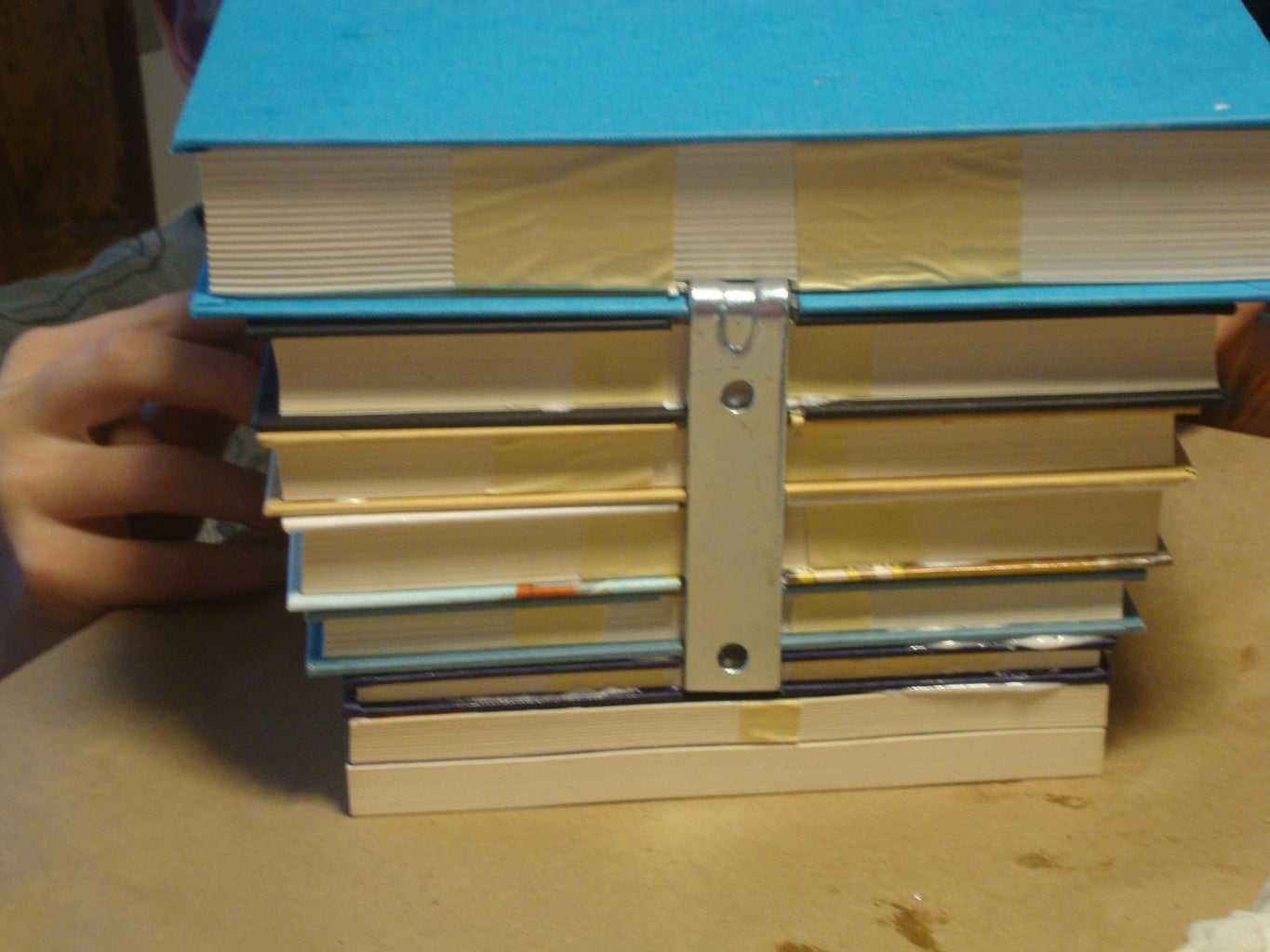 Gluing the Books!and GORILLA TIME