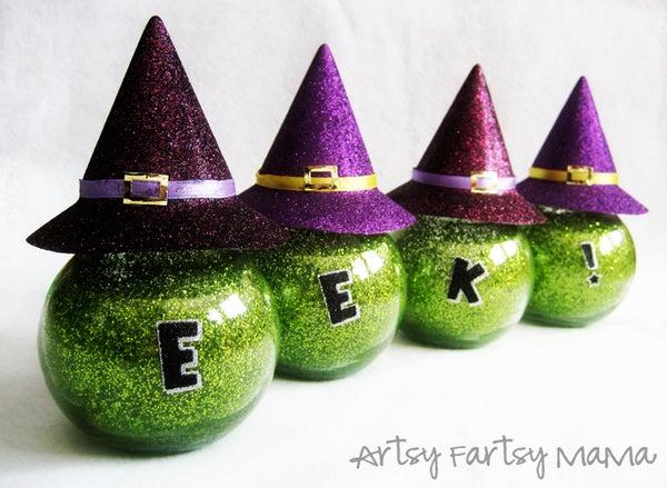Eek! Witchy Jars