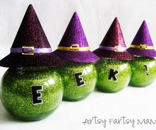 Eek! Witchy Jars