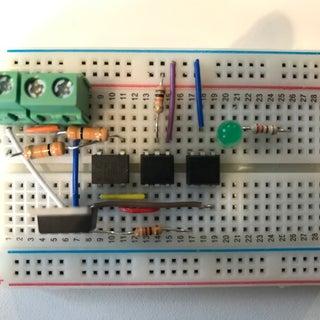 Arduino Controlled Light Dimmer