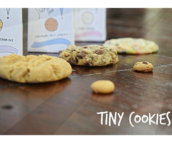 The Sweetest (and Cutest) Gift to Give: Tiny Cookies