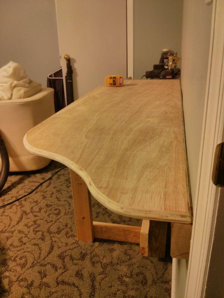 UpCycled Pallet Desk
