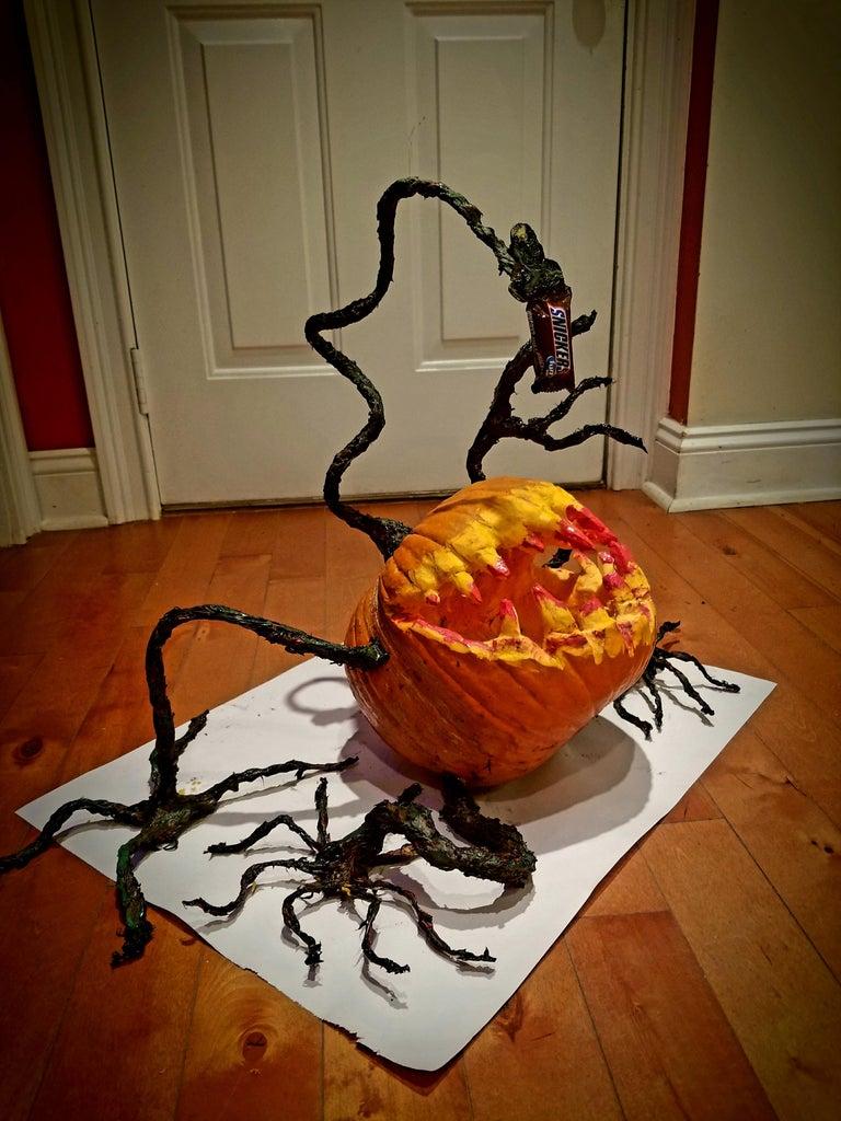Scary Angler Pumpkin