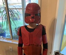 Cheap Child's Sith Trooper Costume