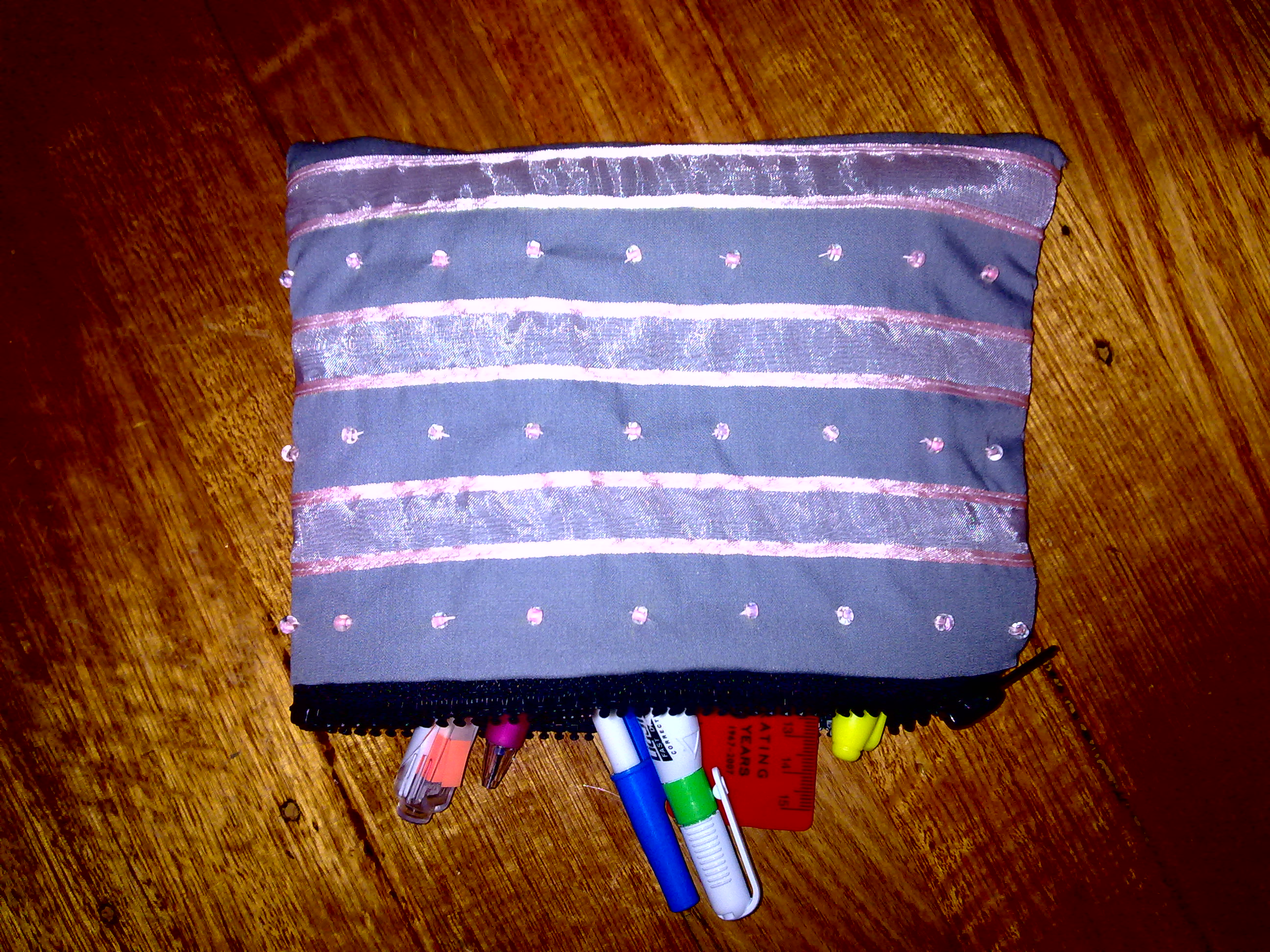 How To Sew A Pencilcase