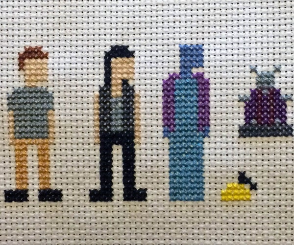 Farscape Cross Stitch: Season One Characters