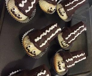 Bride of Frankenstein Cupcakes