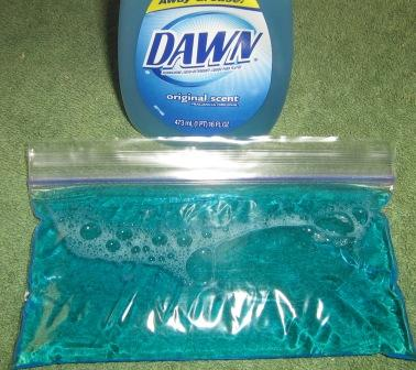 Dish Soap Ice Pack