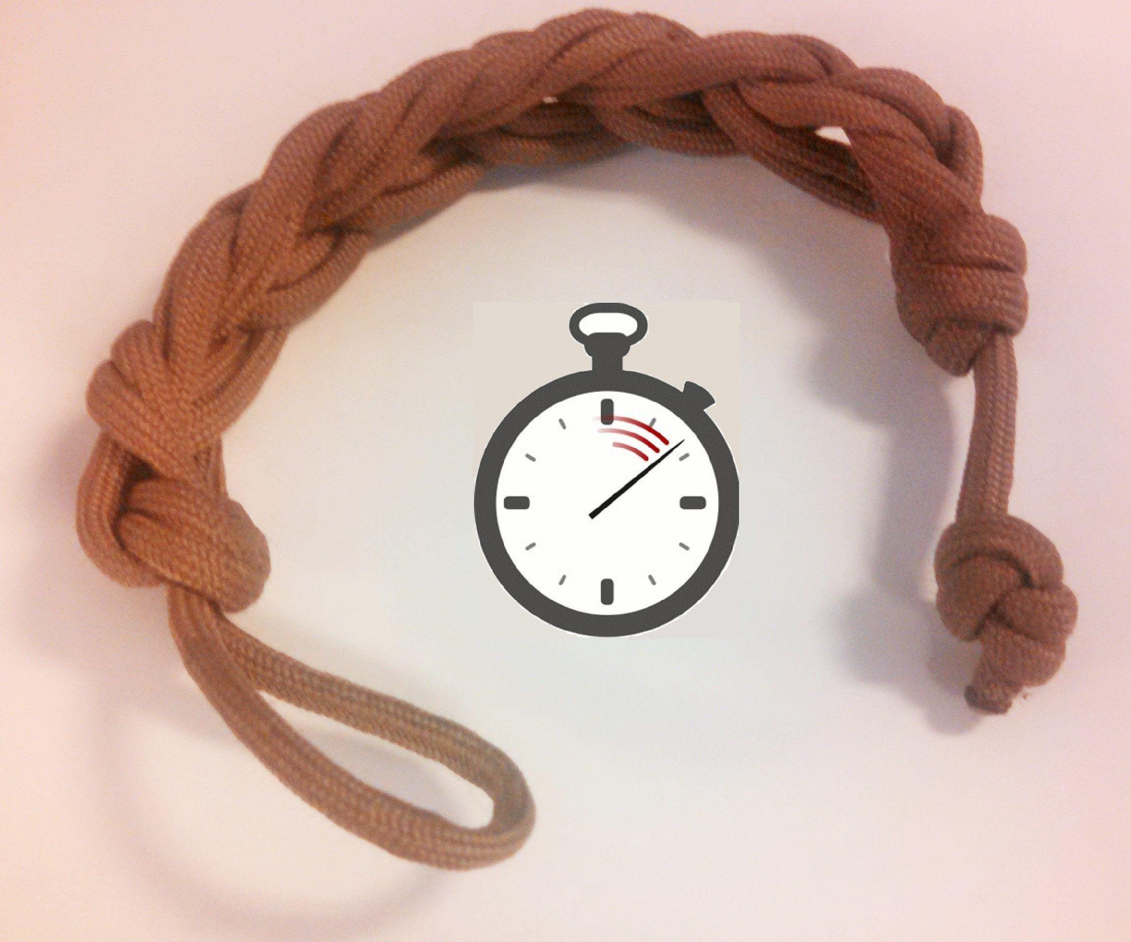 Quick Assembly / Release Paracord Bracelet