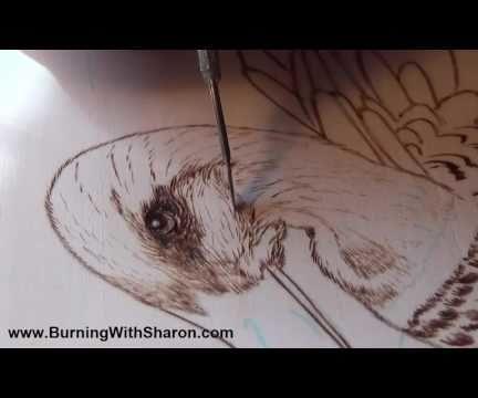 Pyrography: How To Woodburn A Mallard Duck Head