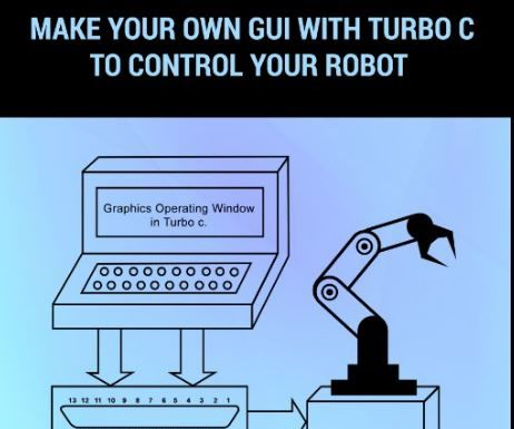 PLAYING WITH PARALLEL PORT (MAKE YOUR OWN GUI WITH TURBO C TO CONTROL YOUR ROBOT