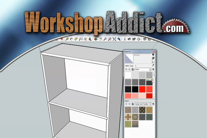 Learn how to use Google Sketchup --- Tutorial #1