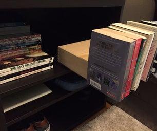 Secret Bookshelf Drawer