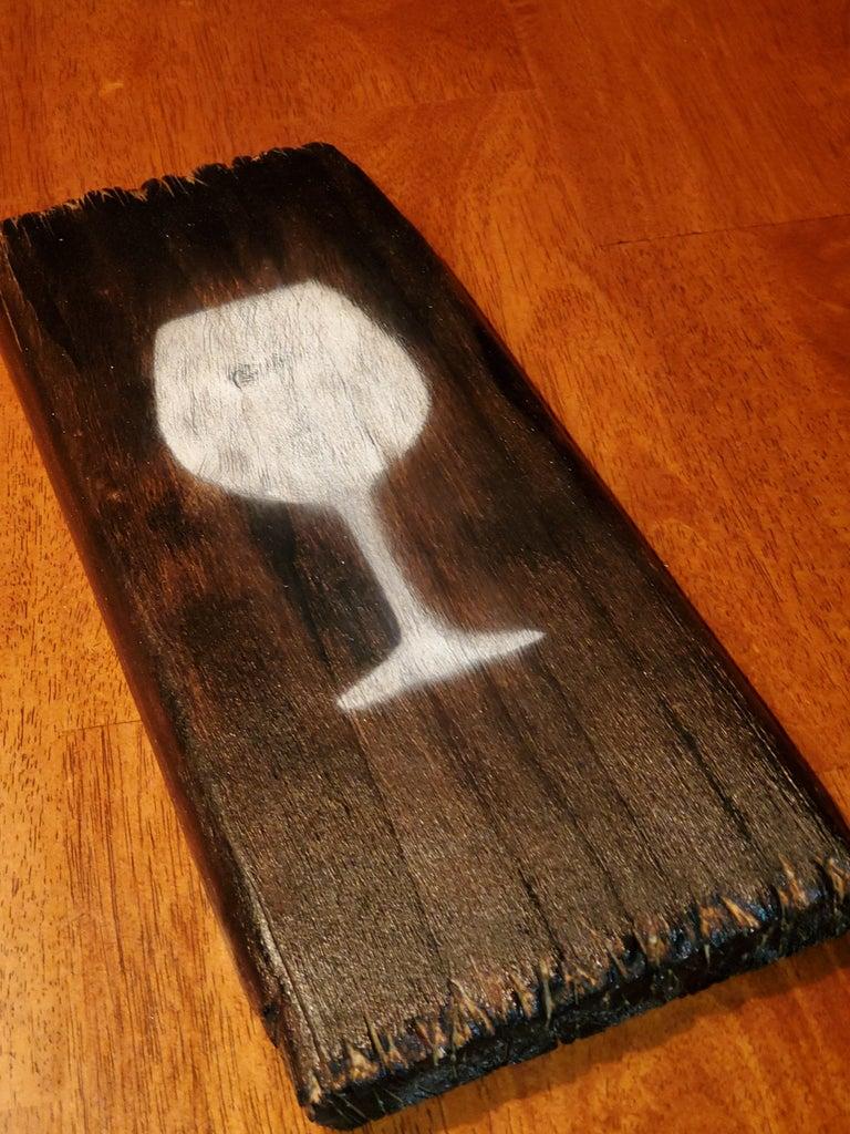 Faux Reclaimed Wood Wall Art