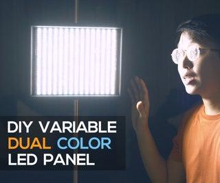 DIY Variable LED Panel (Dual Color)