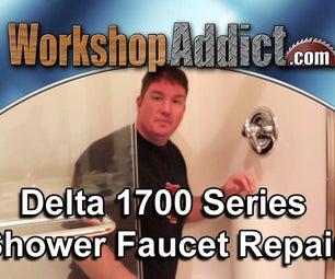 Repair a Leaking Delta 1700 Shower Faucet