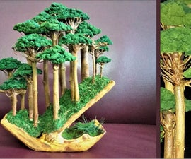 How to Make Landscape Realistic Bonsai Forest |Bonsai Forest Diorama|https://youtu.be/w98fGf0QLBE
