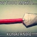 How To Make A Naruto Kunai Knife