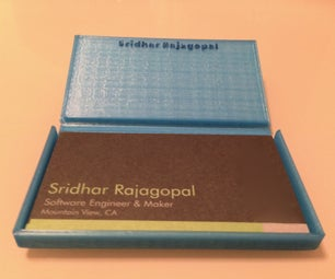3D Printed Business Card Holder