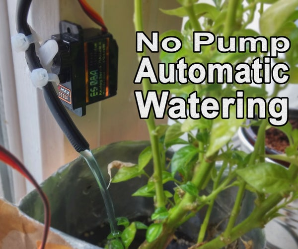 No Pump Automatic Watering!