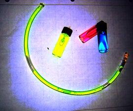 Create Homemade Fluorescent Black Light/UV Displays
