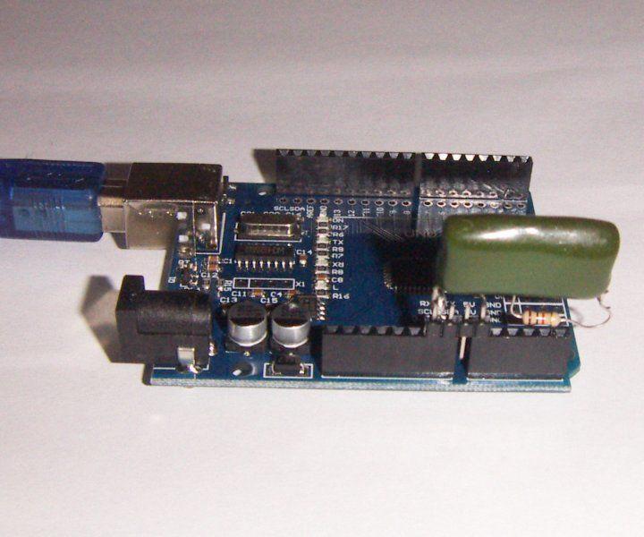 Arduino 10 bit analog output