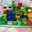 Lego Minecraft Area