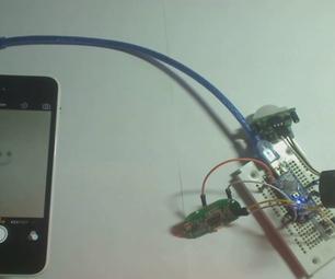 Iphone PIR Motion Detect Shutter Modification