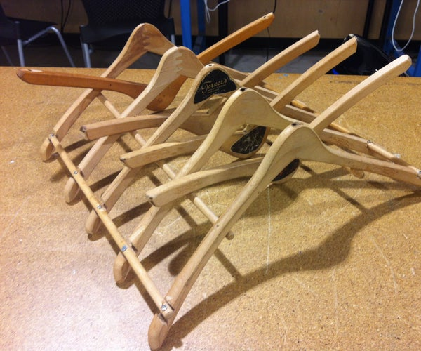 Wood Hanger Dish Drying Rack