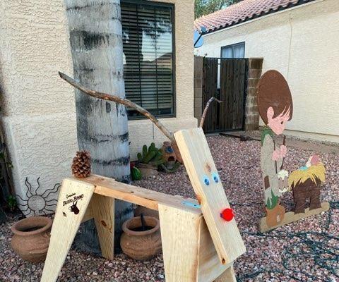 Sawhorse Reindeer